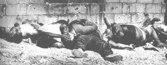 من المجازر الصهيونية في فلسطين - أرشيف