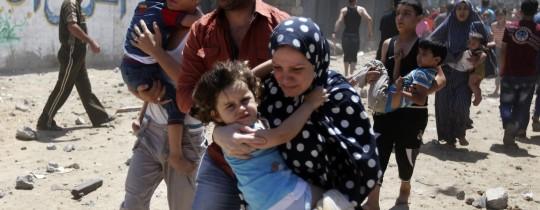 مشهد من العدوان الإسرائيلي على قطاع غزة