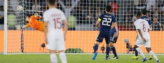 قطر فازت على اليابان في المباراة النهائية 3-1