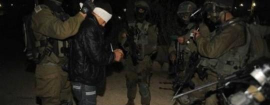 اعتقالات الجيش الإسرائيلي - أرشيف