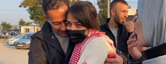 الأسيرة المحررة ميس أبو غوش