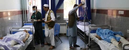 34 قتيلا على الأقل في انفجار عبوة بحافلة في أفغانستان