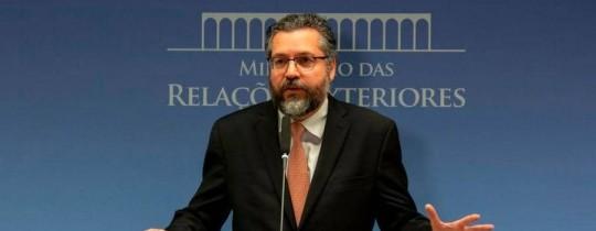 وزير الخارجية البرازيلي إرنستو أراوجو