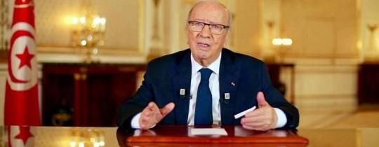 الباجي قايد السبسي الرئيس التونسي