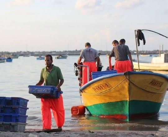 صيادو غزّة