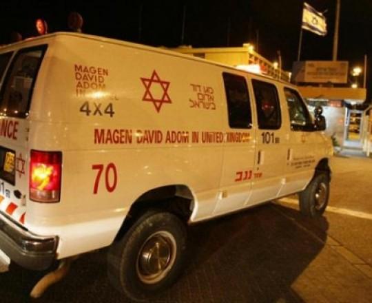 سيارة اسعاف اسرائيلية