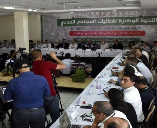 الجزائر: هيئات مدنية تطالب بمرحلة انتقالية لا تتجاوز مدتها سنة واحدة