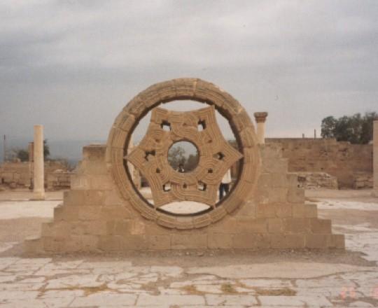 جانب من قصر هشام بن عبد الملك