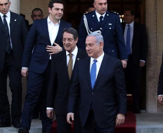 نتنياهو وقبرص