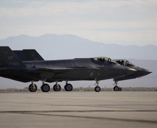 مقاتلات الشبح F 35
