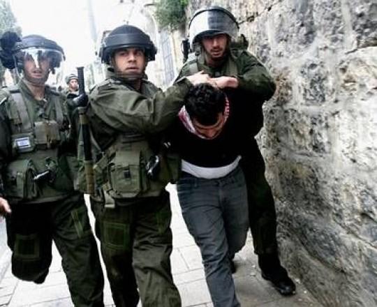 جنود الاحتلال يعتقلون شاباً فلسطينياً