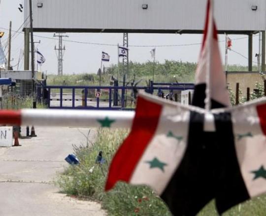 الحدود-السورية مع دولة الاحتلال