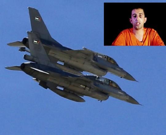 غارات للجيش الأردني على مواقع لتنظيم داعش في ذكرى حرق الطيار الكساسبة