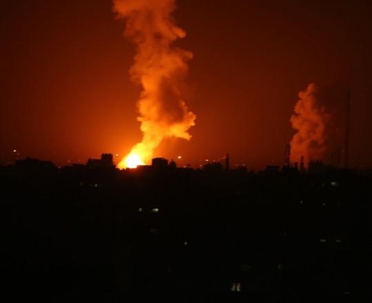 العدوان الأخير على غزة والذي استهدف موقعًا للمقاومة في الشمال بـ 4 صواريخ
