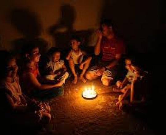 انقطاع التيار الكهربائي على قطاع غزة