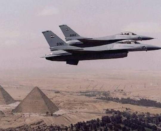 الطائرات الحربية المصرية