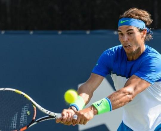 لاعب التنس الاسباني رافائيل نادال