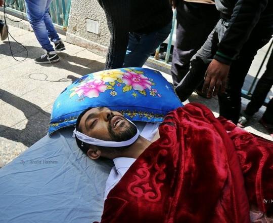 الشهيد توفيق أبو ريالة 34 عاماً