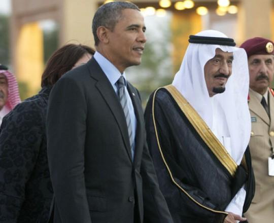 أرشيف: الملك سلمان والرئيس الأمريكي أوباما