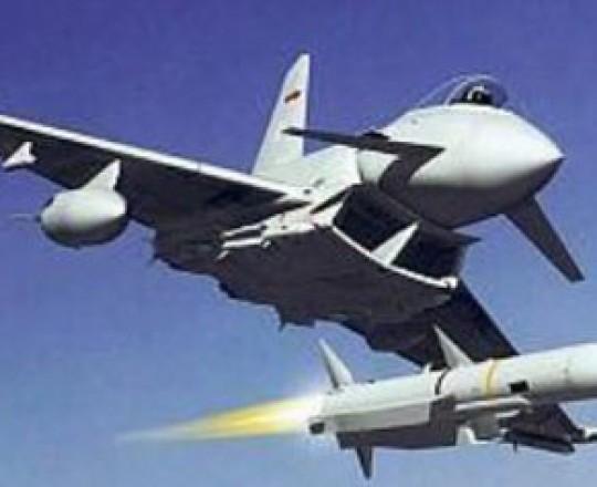 طائرة مصرية تقصف
