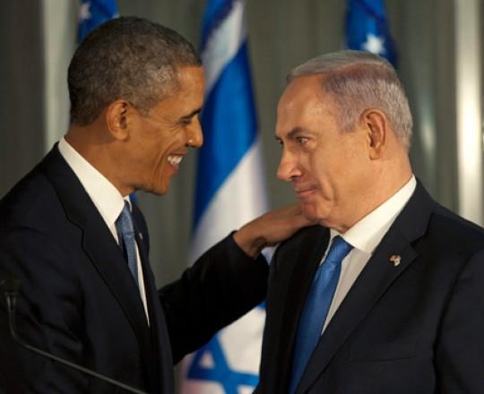 نتنياهو و أوباما