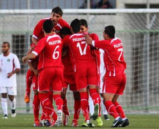 المنتخب الوطني الفلسطيني بتصفيات أسيا