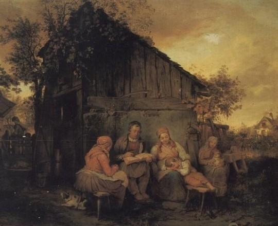 لوحة العائلة لجوزيف دانهوز