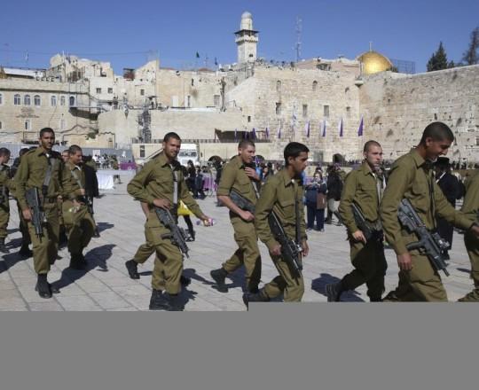 جنود صهاينة في القدس