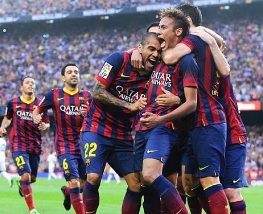 برشلونة عزّز موقعه في صدارة الدوري بـ 68 نقطة متقدّما على الملكي بـ 4 نقاط