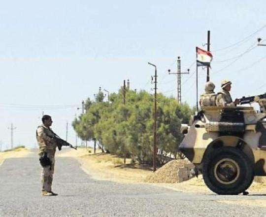 قوات الجيش المصري في سيناء