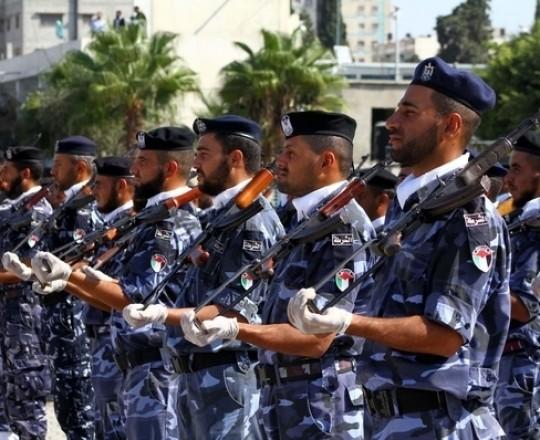 الشرطة الفلسطينية في غزة