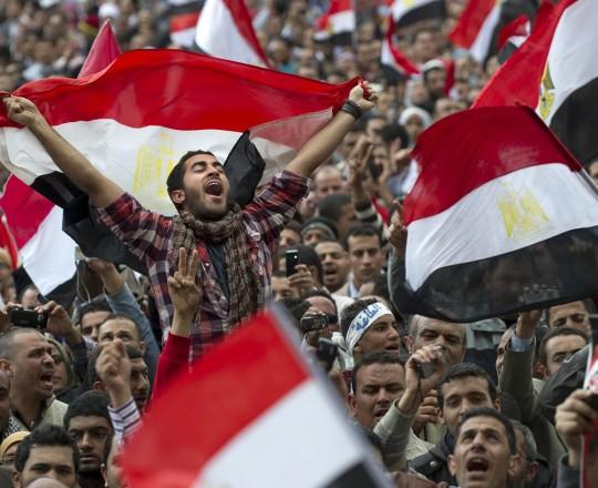 الذكرى السابعة لثورة 25 يناير في مصر