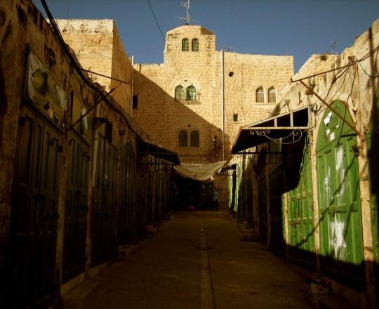 البلدة القديمة بمدينة الخليل