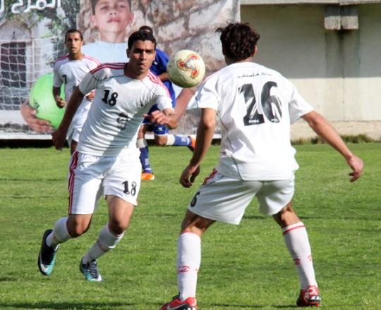 أخفق غزة الرياضي في الفوز على خدمات رفح