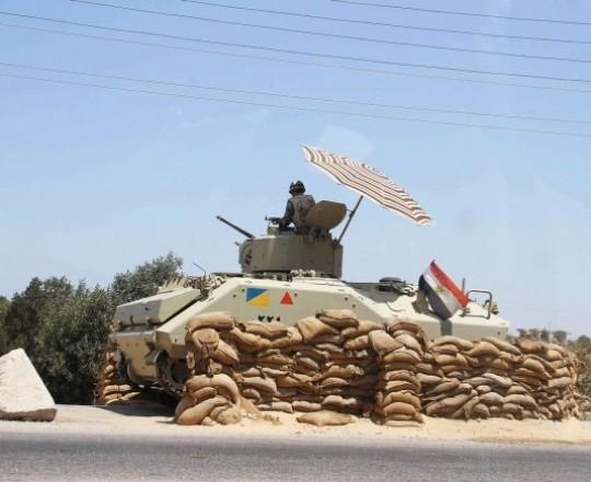 كمين للجيش المصري
