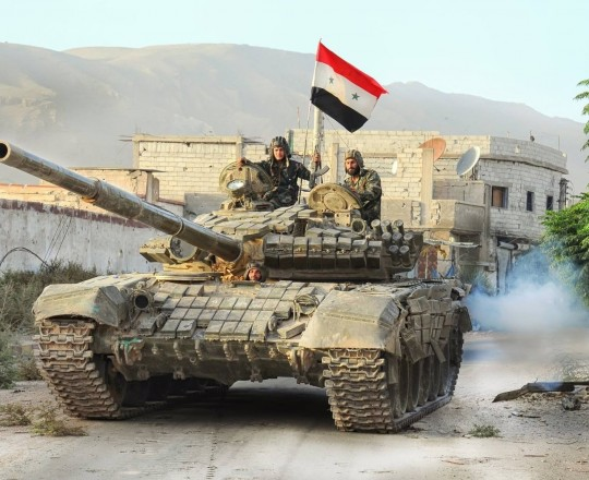 تقدم الجيش السوري في القرى والبلدات المحررة - أرشيف