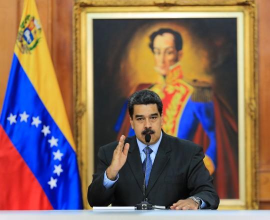 نيكولاس مادورو- الرئيس الفنزويلي