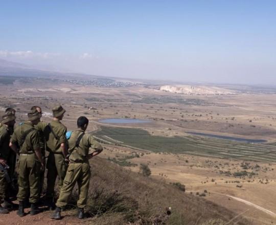 جيش الاحتلال في الجولان السوري- أرشيف