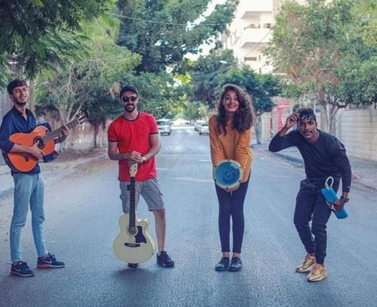 فرقة صول الموسيقية من غزة