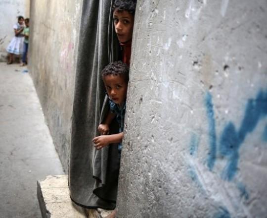 مخيم للاجئين الفلسطينيين