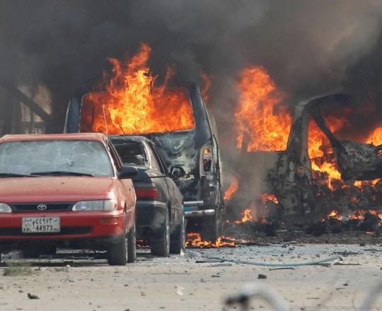 تفجير سيارة مفخخة - ارشيف