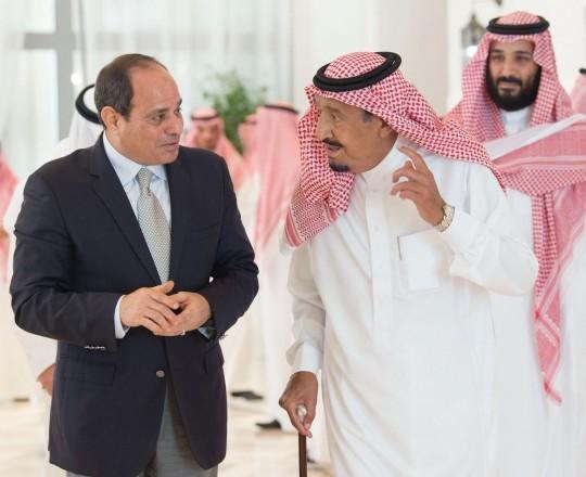 السيسي يزور السعودية بشكل مفاجئ (واس)