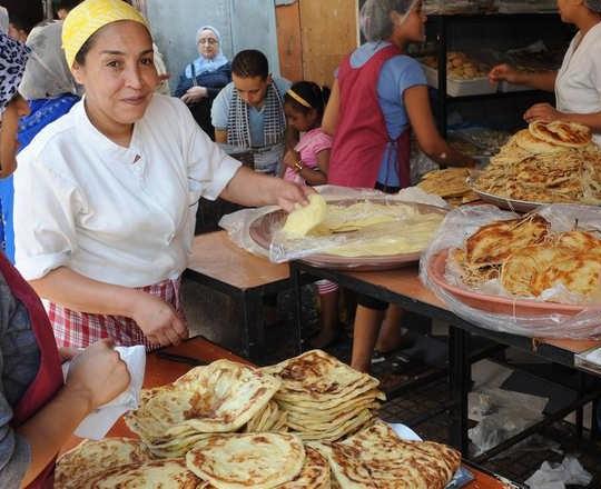 من مظاهر شهر رمضان في أسواق المغرب