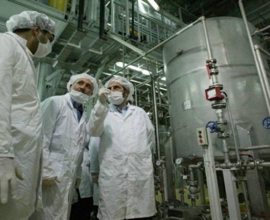 تخصيب اليورانيوم في ايران