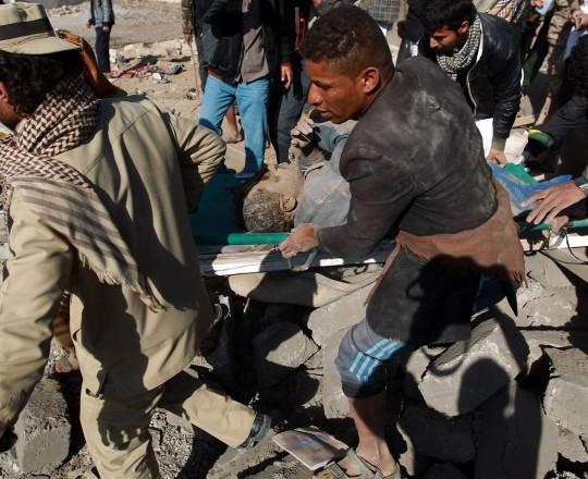 تحالف السعودية لا يتواني عن قصف مناطق مأهولة بالمدنيين