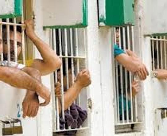 الأسرى الفلسطينيين في سجون الاحتلال