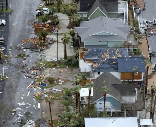 خسائر الإعصار هارفي