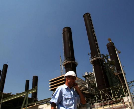 محطة التوليد بغزة