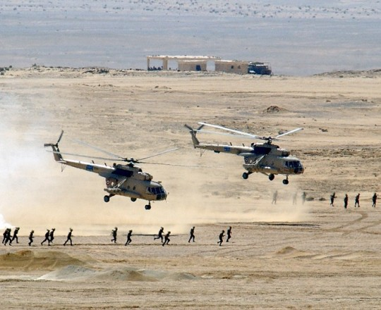 اشتباكات في سيناء