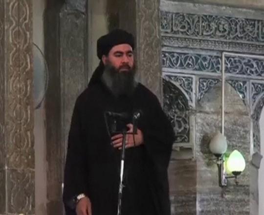 البغدادي زعيم ما يسمى داعش
